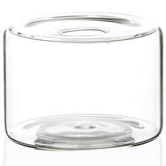 Vaso em Vidro Anhua Glass Transparente 8cm - Casa Etna