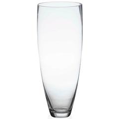 Vaso em Vidro Conne Transparente 33cm - Casa Etna