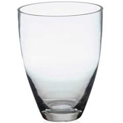 Vaso em Vidro Jacca Transparente 18cm - Casa Etna