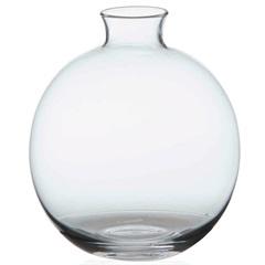Vaso em Vidro Malaga Transparente 13cm - Casa Etna