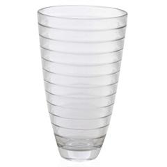 Vaso em Vidro Transparente Baguette 30cm - Casa Etna