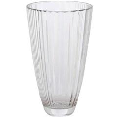 Vaso em Vidro Transparente Diva 30cm - Casa Etna