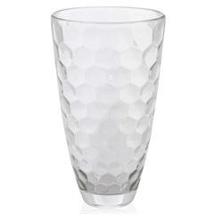Vaso em Vidro Transparente Honey 30cm - Casa Etna