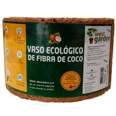 Vaso Fibra de Coco Pequeno - West Garden