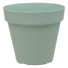 Vaso Redondo em Polipropileno Sampa 20x19cm Verde Vintage - Brilia