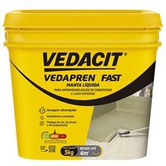 Vedapren Fast Branco Galão 5 Kilos - Vedacit
