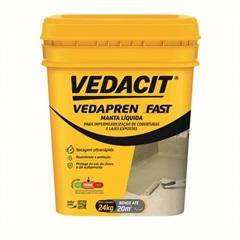Vedapren Fast Concreto Balde 24 Kilos - Vedacit