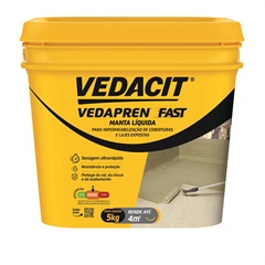 Vedapren Fast Concreto Galão 5 Kilos - Vedacit