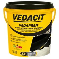 Vedapren Galão 3,6 Litros - Vedacit