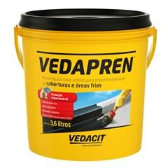 Vedapren Preto 3.6 Kg - Vedacit