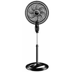 Ventilador de Coluna com 8 Pás 140w 110v Turbo Control 40cm Preto E Prata - Mondial