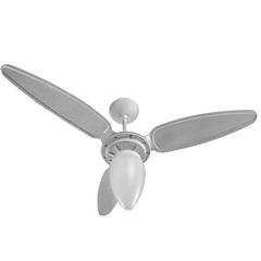 Ventilador de Teto com 3 Pás Wind 130w 220v Branco  - Ventisol