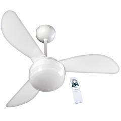 Ventilador de Teto com Controle Remoto Santorini 130w 110v Branco