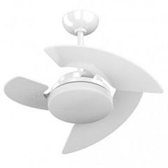 Ventilador de Teto com Luminária 130w 110v Máximo Aventador Branco - Tron