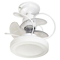 Ventilador de Teto com Luminária 149,5w Bivolt Bali com Controle Remoto Branco  - Treviso