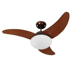 Ventilador de Teto Solano 3 Pás E Controle de Velocidade Cobre 110v