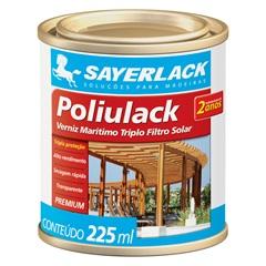 Verniz Brilhante Poliulack Transparente 225ml - Sayerlack