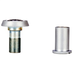 Visor de Porta Cromo Acetinado 8001 - Datti