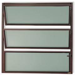 Vitrô Basculante com Vidro em Alumínio Master 40x60cm Cortem - Brimak