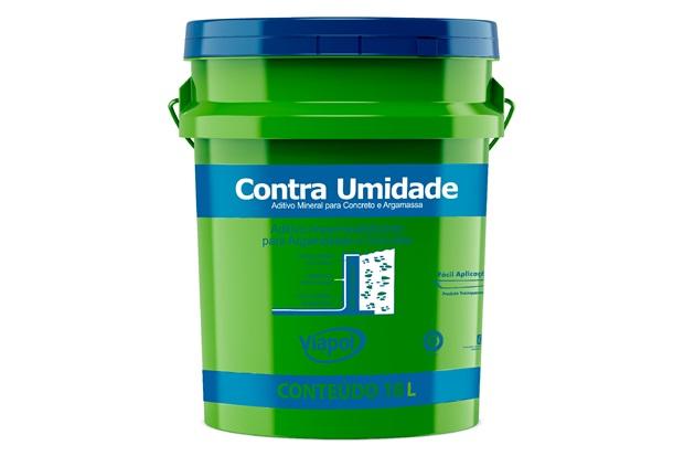 Aditivo Impermeabilizante para Argamassa E Concreto Contra Umidade Branco 18 Litros - Viapol