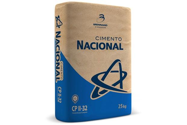 Cimento Cp2 25kg  - Cimento Nacional