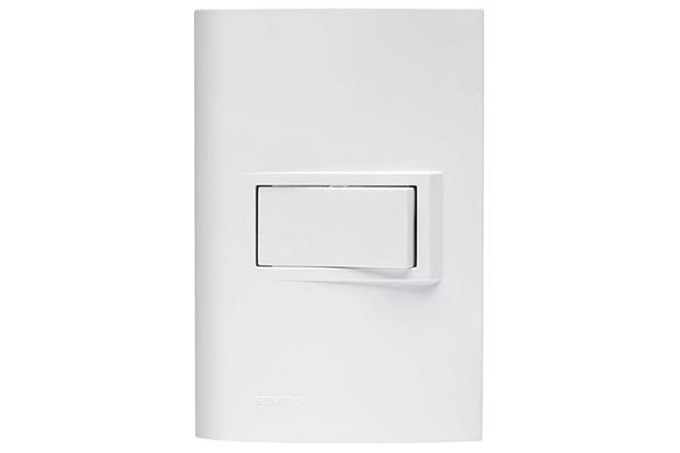 1 Interruptor Simples com Placa 4x2 Vivace Branco - Siemens