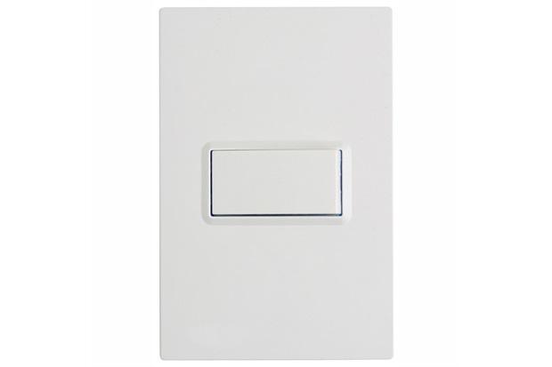 1 Interruptor Simples para 1 Módulo Delta Branco - Siemens