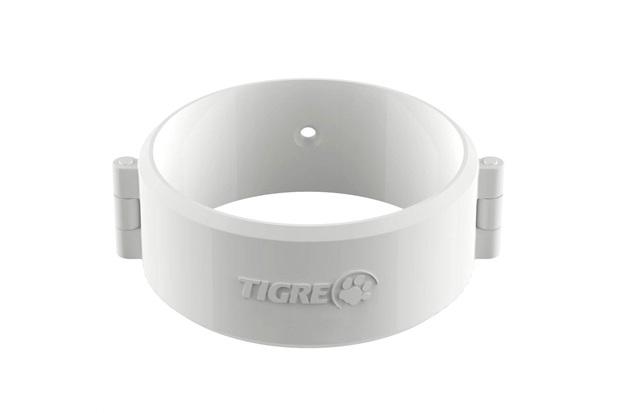 Abraçadeira Circular Aquapluv Style 88mm Branca - Tigre