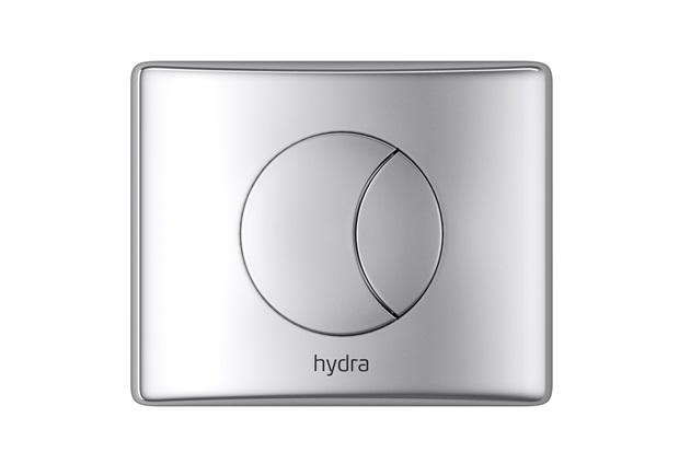 """Acabamento de Válvula de Descarga 1.1/4"""" E 1.1/2"""" Hydra Duo Cromado - Deca"""