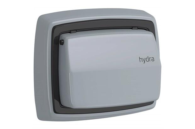 Acabamento para Válvula de Descarga Hydra Max Cinza - Deca