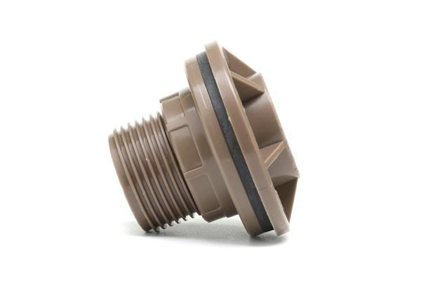 Adaptador Soldável com Flange Anel para Caixa D'Água 32mm Marrom - Tigre