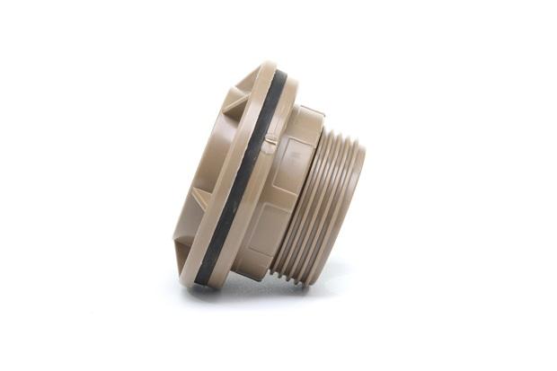Adaptador Soldável com Flange Anel para Caixa D'Água 60mm Marrom - Tigre