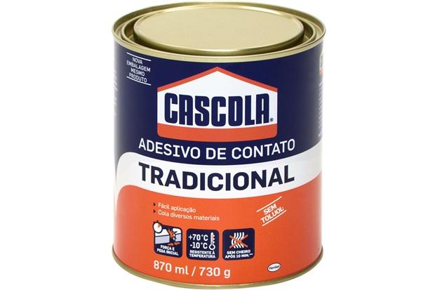 Adesivo de Contato Tradicional 730g - Cascola