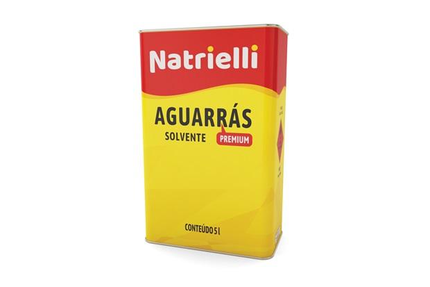 Aguarrás Solvente 5 Litros - Natrielli