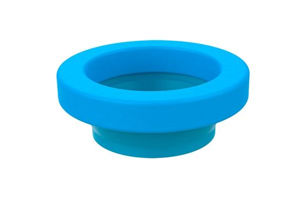 Anel de Vedação com Guia para Vaso Sanitário Azul - Blukit