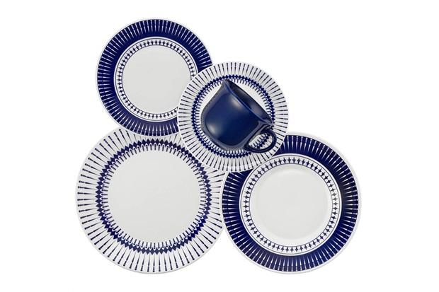 Aparelho de Jantar E Chá Biona Colb com 20 Peças - Oxford