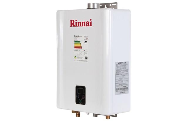 Aquecedor de Água a Gás Digital Bivolt Gn E17 Branco - Rinnai