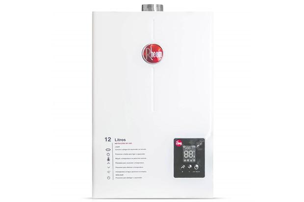 Aquecedor de Água a Gás Digital Prestige 12 Litros Bivolt Gn Branco - Rheem
