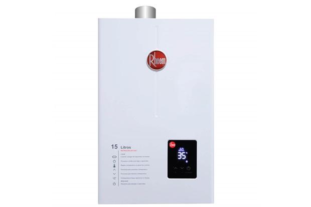 Aquecedor de Água a Gás Digital Prestige 15 Litros Bivolt Gn Branco - Rheem