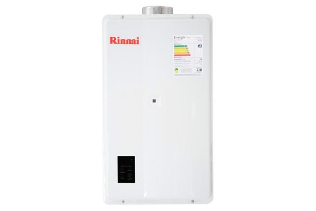 Aquecedor de Agua a Gás Reu 2402 Gn 32,5 Litros Branco Bivolt - Rinnai