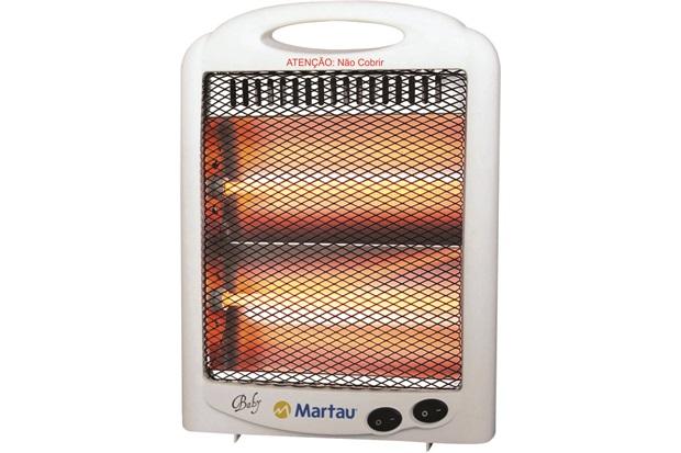 Aquecedor de Ambiente Quartzo Aqq-0600 110v Branco - Martau