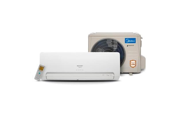 Ar-Condicionado com Controle Remoto 1066w 220v 9000btus Split Springer Branco - Midea