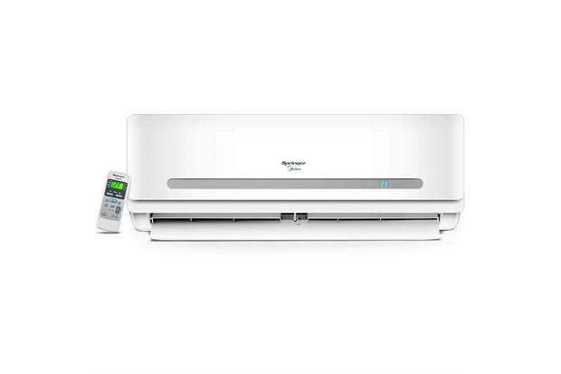 Ar-Condicionado com Controle Remoto 2893w 220v 30000btus Quente E Frio Split Springer Branco - Midea
