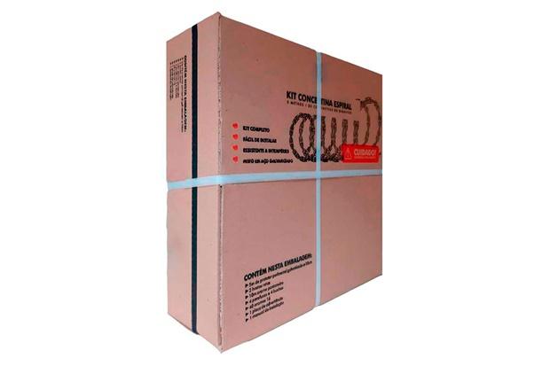 Arame de Proteção para Muro 1 Rolo com 0,30x5m - Calha Forte