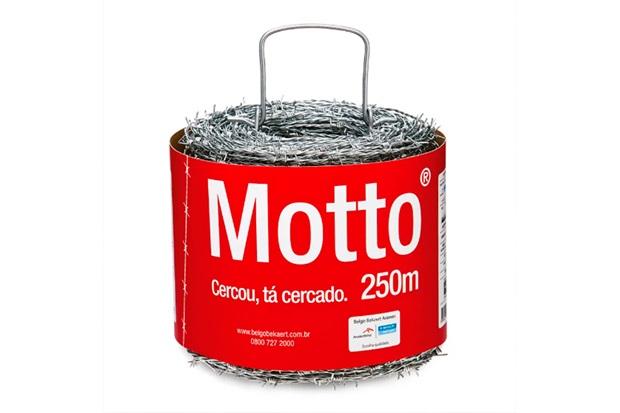 Arame Farpado em Aço Motto 1,6mm com 250 Metros - ArcelorMittal