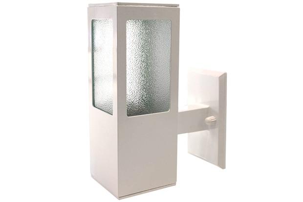 Arandela de Sobrepor para 1 Lâmpada Garten 21,8x8cm Branca - Blumenau