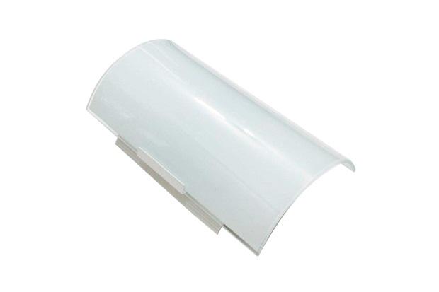 Arandela em Alumínio para 1 Lâmpada Vidro Fosco Branca - Franzin