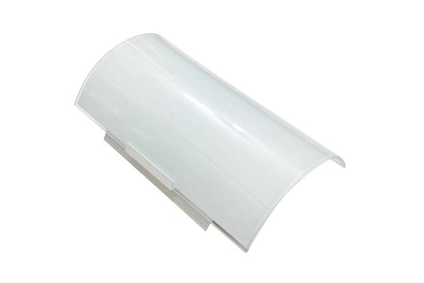 Arandela Paulistinha com Vidro Quadrado Leitoso Branca - Franzmar