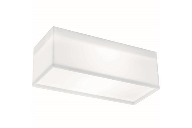 Arandela White Led Retangular 20w 12,4x36,4cm 127v - LLum Bronzearte