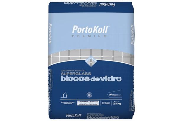 Arg. Bloco de Vidro 20kg Portokoll - Portokoll